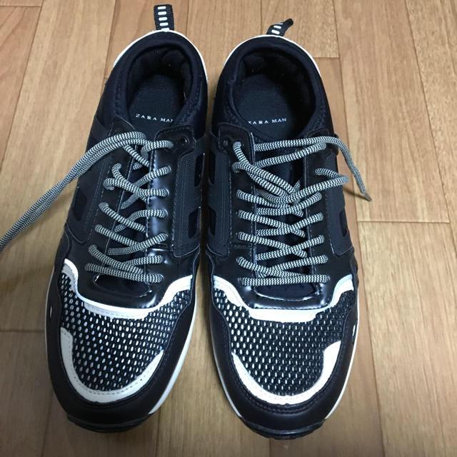 ZARA(ザラ)のZARA MAN スニーカー サイズ42 メンズの靴/シューズ(