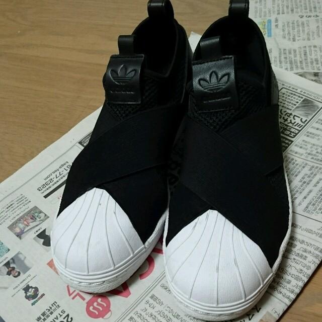 adidas 黒スニーカー