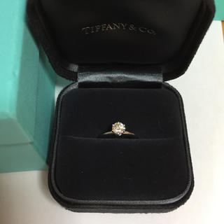 ティファニー(Tiffany & Co.)のTIFFANY&Co. プラチナダイヤリング(リング(指輪))