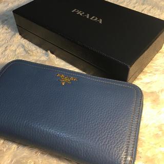プラダ(PRADA)の【いち様専用】RRADA ラウンドファスナー 長財布(財布)