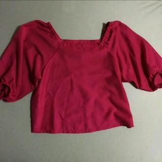 ジーユー(GU)のオフショル S(シャツ/ブラウス(半袖/袖なし))