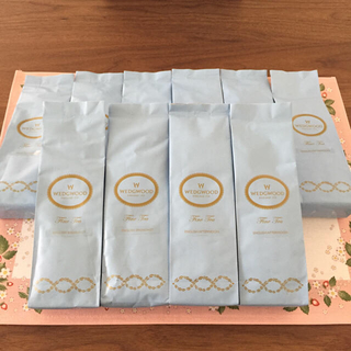 ウェッジウッド(WEDGWOOD)のsandbirds様専用♡ウェッジウッド 紅茶 10袋セット&イエローリボン2客(茶)
