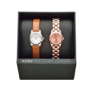 マークバイマークジェイコブス(MARC BY MARC JACOBS)のマークバイ マークジェイコブス ペアーウォッチ 2本組 レディース (腕時計)