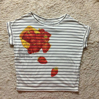ミスティウーマン(mysty woman)のmysty woman 半袖 カットソー(Tシャツ(半袖/袖なし))