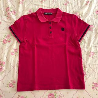 マリークワント(MARY QUANT)のマリークワント ポロシャツ ピンク(ポロシャツ)