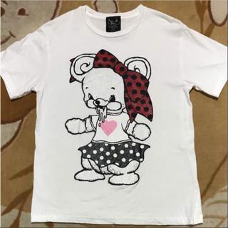 モノマニア(monomania)のmonomania よだれベア Tシャツ(Tシャツ(半袖/袖なし))