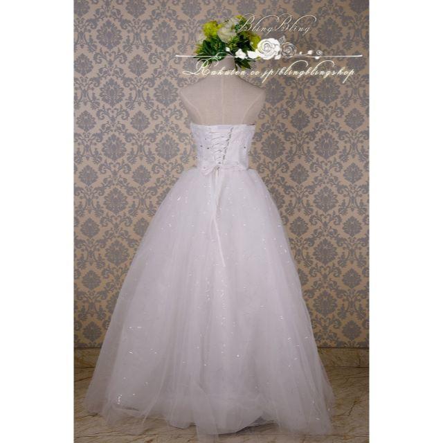 9fd42a334c73e  新品 ウェディングドレス 二次会ドレス ロングドレス シンプル a17 レディースのフォーマル ドレス