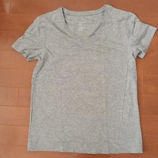 ムジルシリョウヒン(MUJI (無印良品))の超美品!お買い得!MUJIVネックTシャツ(Tシャツ(半袖/袖なし))