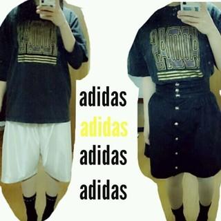 アディダス(adidas)のadidas ロゴTシャツ(Tシャツ(長袖/七分))