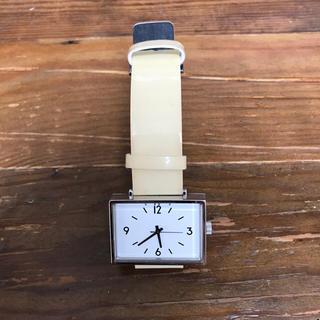 ムジルシリョウヒン(MUJI (無印良品))の無印 駅の時計 リストウォッチ(腕時計)
