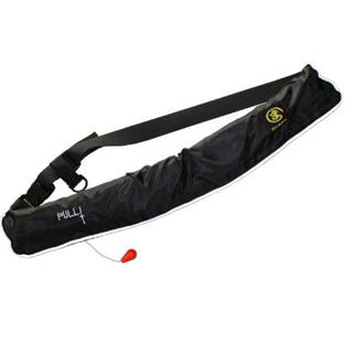 ライフジャケット ベルトタイプ (手動膨張式)  新品 黒(ウエア)