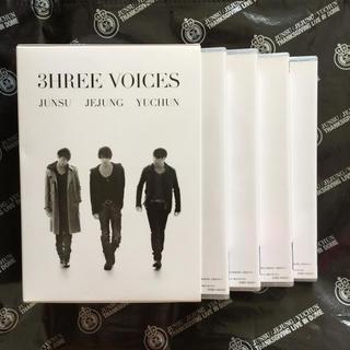 ジェイワイジェイ(JYJ)の★JYJ DVD★3HREE VOICES(その他)
