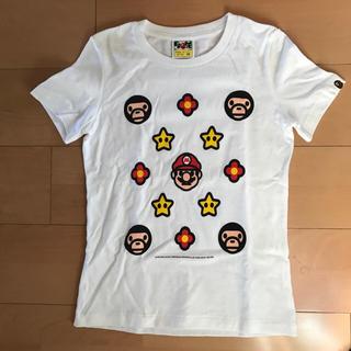 アベイシングエイプ(A BATHING APE)の☆A BATHING APE マリオコラボ☆(Tシャツ(半袖/袖なし))