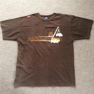 アカデミクス(AKADEMIKS)のAkademiksアカデミクス Tシャツ 茶色(ブラウン) 4L(?)(Tシャツ/カットソー(半袖/袖なし))