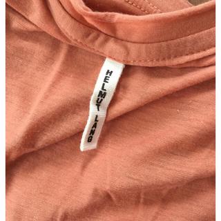 ヘルムートラング(HELMUT LANG)のヘルムートラング オレンジノースリーブ (カットソー(半袖/袖なし))