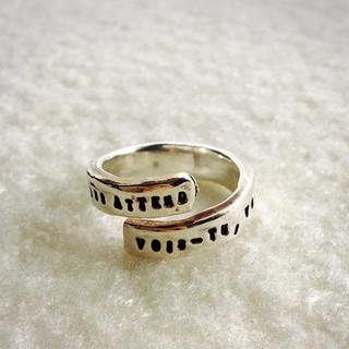 イオッセリアーニ(IOSSELLIANI)のSERGE THORAVAL リング幸せの手錠Bonheurシルバー(リング(指輪))