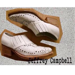 ジェフリーキャンベル(JEFFREY CAMPBELL)のジェフリーキャンベル日本未入荷レアおじ靴(ローファー/革靴)