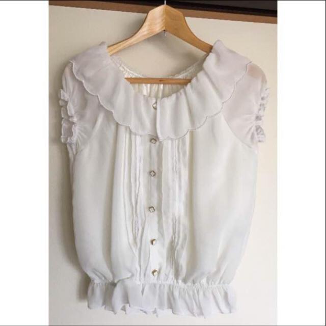 SPIGA(スピーガ)のSPIGA 2wayオフショルブラウス ホワイト レディースのトップス(シャツ/ブラウス(半袖/袖なし))の商品写真