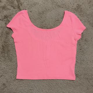 ベルシュカ(Bershka)のbershka ネオントップス S(Tシャツ(半袖/袖なし))