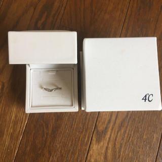 ヨンドシー(4℃)の4℃ピンクシルバー6号(リング(指輪))