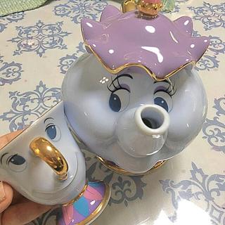 【美女と野獣】ポット夫人とチップのティーカップセット☆未使用
