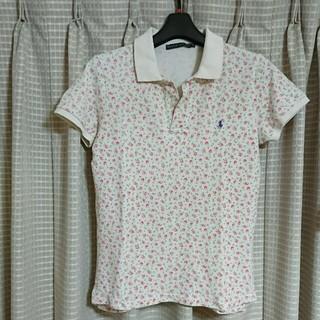 ラルフローレン(Ralph Lauren)のラルフローレン   花柄 ポロシャツ  レディース (ポロシャツ)