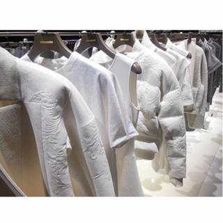 エポカ(EPOCA)の新品☆定価7.4万 エポカ EPOCA ワンピース 刺繍 白 半袖 ドレス(ミニワンピース)