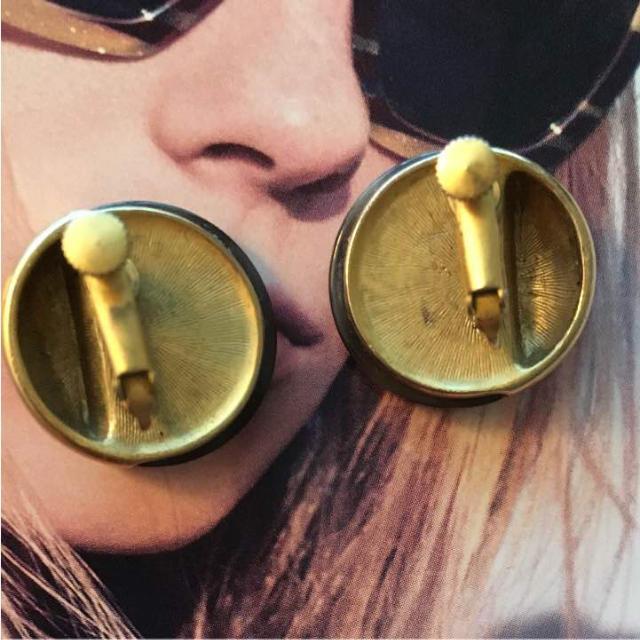 ゴールドアンティークイヤリング ねじ式 レディースのアクセサリー(イヤリング)の商品写真