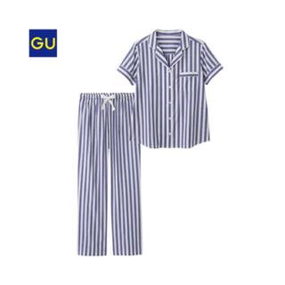 ジーユー(GU)のGU/ストライプパジャマ(パジャマ)