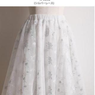 トッコ(tocco)のtocoo チュールインスカート(ひざ丈スカート)