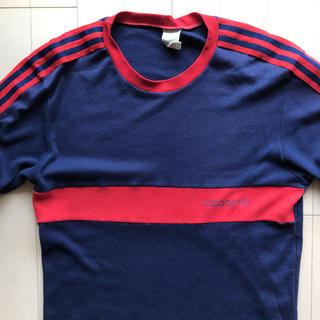 アディダス(adidas)の70sアディダスadidasビンテージTシャツ Suchmos サチモス ヨンス(Tシャツ/カットソー(半袖/袖なし))