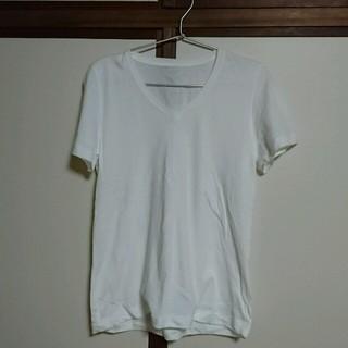 ムジルシリョウヒン(MUJI (無印良品))の無印良品 コットンTシャツ Lサイズ(Tシャツ(半袖/袖なし))