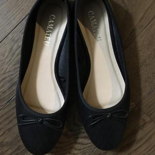 カマイウ(Camaieu)の黒の靴(ハイヒール/パンプス)