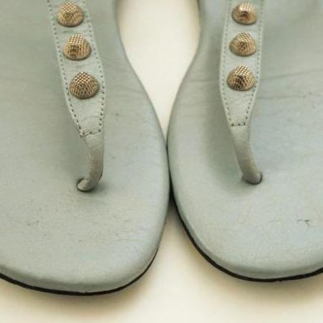 Balenciaga(バレンシアガ)のバレンシアガ サンダル ライトブルー サイズ37C 約23.5cm レディースの靴/シューズ(サンダル)の商品写真