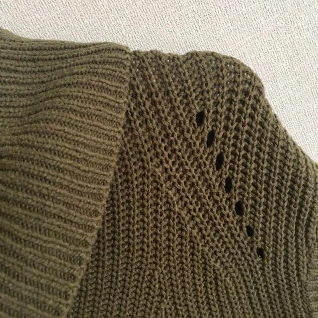 Noble(ノーブル)のNoble ざっくりニットベスト レディースのトップス(ニット/セーター)の商品写真