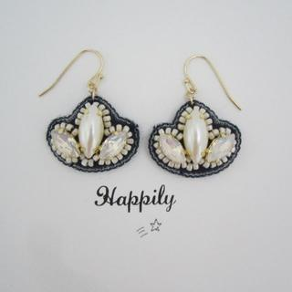 【SALE】Happily⁺ No. 108(イヤリグ/ピアス)(イヤリング)