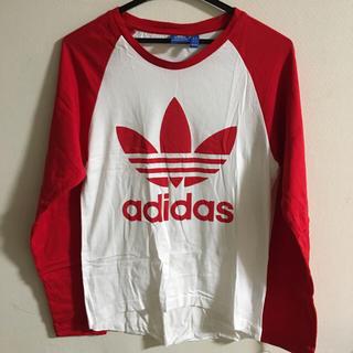 アディダス(adidas)のadidas tシャツ 美品(Tシャツ/カットソー(七分/長袖))