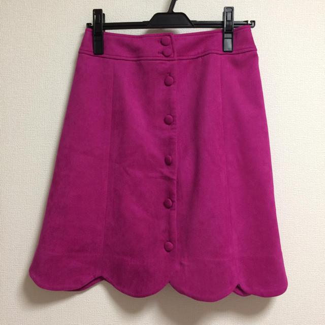 w closet(ダブルクローゼット)のW closet ピンク スカート レディースのスカート(ひざ丈スカート)の商品写真