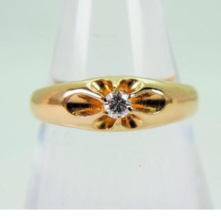 ☆K18 ダイヤモンドリング[711-5](リング(指輪))