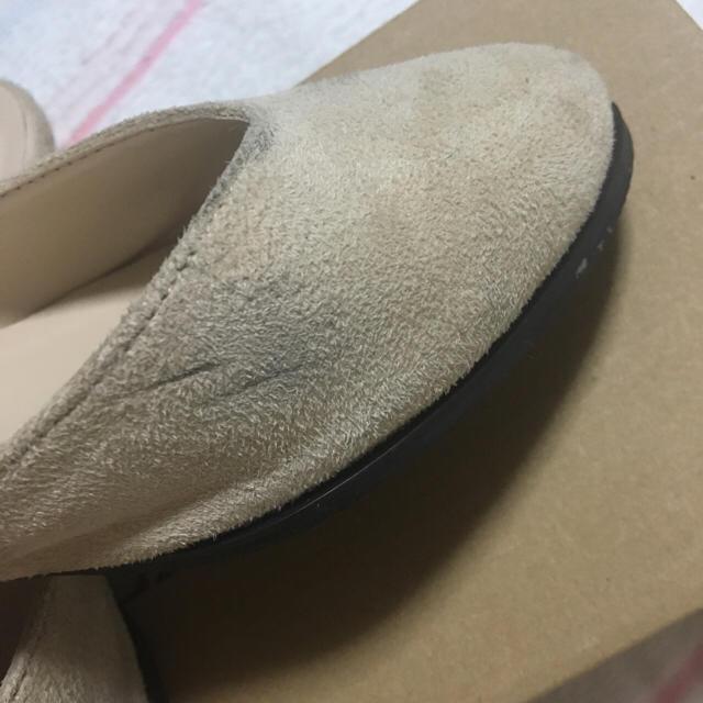 who's who Chico(フーズフーチコ)のVカットミュール レディースの靴/シューズ(ミュール)の商品写真