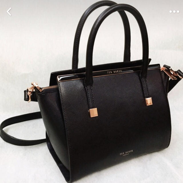 c350be755d75 TED BAKER(テッドベイカー)のtedbaker テッドベイカー 2way 黒ハンドバッグ レディースのバッグ