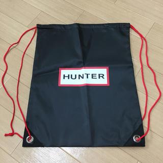 ハンター(HUNTER)のハンター 袋 ナップザック型 新品未使用(レインブーツ/長靴)