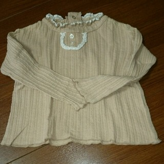 ビケット(Biquette)の90㎝ 90㎝  biquette カットソー(Tシャツ/カットソー)