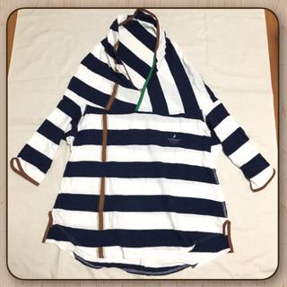 ザドレスアンドコーヒデアキサカグチ(The Dress & Co. HIDEAKI SAKAGUCHI)のTheDress&Co. ボーダー竹の子カットソー(カットソー(長袖/七分))