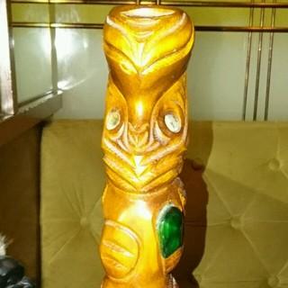 さらに値下げ  ニュージーランド 木彫り(置物)