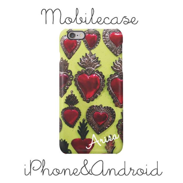 ヴィトン iphone7 ケース メンズ | 名入れ可能♡メキシカンハート柄スマホケース♡iPhone以外も対応機種多数あり♡の通販 by welina mahalo|ラクマ