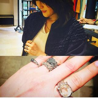 ドゥロワー(Drawer)の室井由美子さん着 スティーブンデュエック リング(リング(指輪))