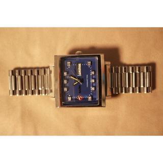 ラドー(RADO)の値下げ致しました☆ラドーマンハッタン文字盤リダン ブルー美品☆(腕時計(アナログ))
