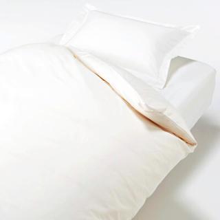 ムジルシリョウヒン(MUJI (無印良品))の【新品】MUJI  高密度サテン織ホテル仕様枕カバー 3SET(クッションカバー)
