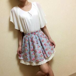 アンティローザ(Auntie Rosa)の送料込♡AuntieRosa花柄スカート(ミニスカート)